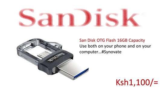 OTG Flash Disk 16GB Dual Drive image 2