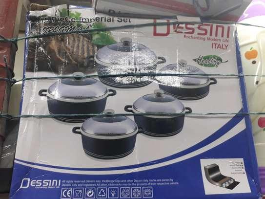 10pc desini nonstick sufuria/Cookware  pot/sufuria image 3