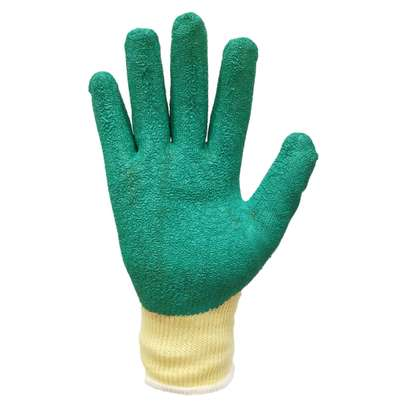 Heavy Duty Industrial Diamond Grip Gloves image 4