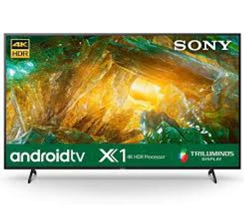 Sony 55X8000H 55 Inch 4K Smart Android TV image 1