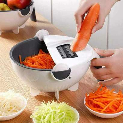 Wet basket vegetable cutter image 1