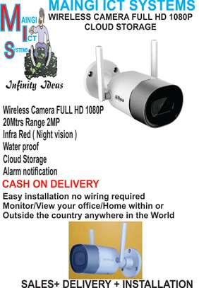 WIRELESS FULL HD 1080P CAMERA WATER PROOF 20MTRS RANGE