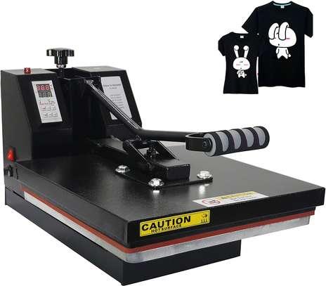 Digital Sublimation Heat Transfer Machine T-Shirt Heat Press Machine image 2