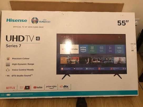 """55"""" Hisense 4k uhd TV image 1"""