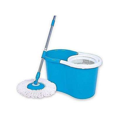 Spin Mop & Bucket Set - Blue
