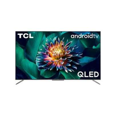 TCL 55'' QLED ULTRA HD 4K ANDROID TV, VOICE CONTROL, 4K HDR C715-Black image 1