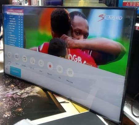 """Samsung – 55"""" - UHD 4K Curved Smart LED TV - HDR - Black-On offer-New image 1"""