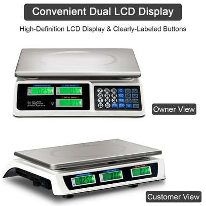 Electronic Price Computing Scale/30kg weighing scale image 1