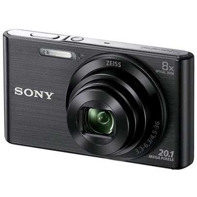 Sony Cyber-Shot Dsc-W830 Digital Camera Black image 1