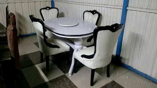White Antique dining tables