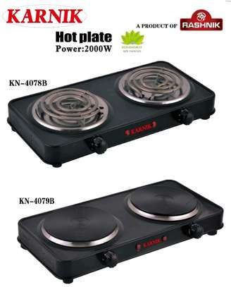 Double electric hot plate and spiral same price image 1