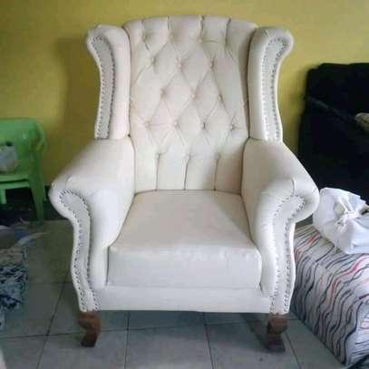 Beautiful Stylish Modern Quality Wingback Chair image 1