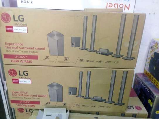 LG home theater system 657 image 1