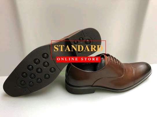 PURE ITALIAN LEATHER SHOES WITH RUBBER SOLE image 13