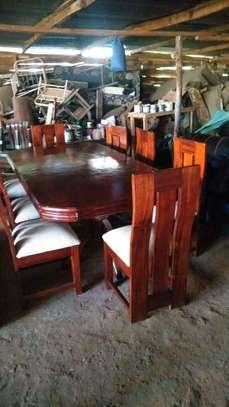 8 seater Mahogany dining tables image 2