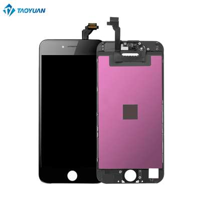 Iphone 8 plus  screen  replacement -black image 1