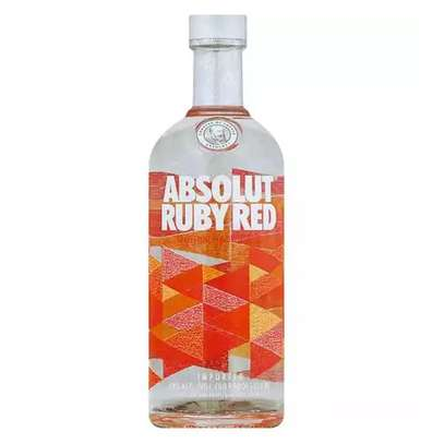 Absolut Ruby Red Flavoured Vodka - 750ml image 1
