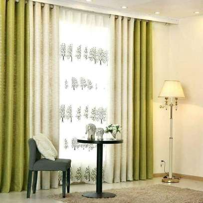 Ivory and cream Curtains image 1