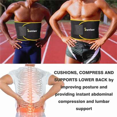 Sauna Waist Trainer Gym Fitness Equipment Sport Slimming Sweat Waist Trimmer image 3