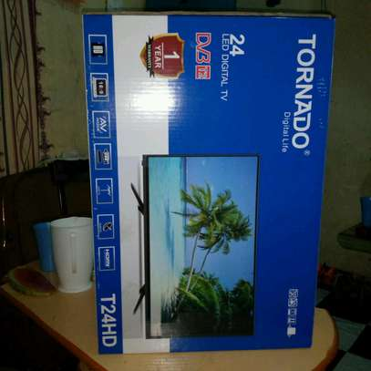 24 inch Digital TV - Tornado new with Delivery image 2