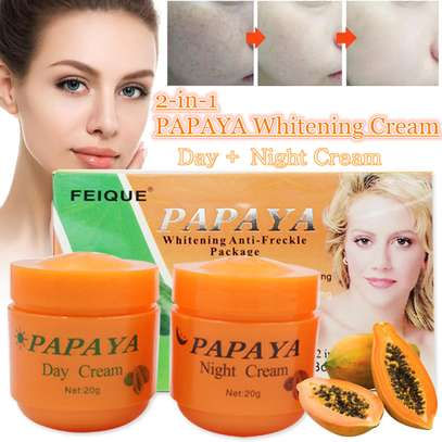 PAPAYA Whitening   Natural botanical formula skin care whitening cream. image 1