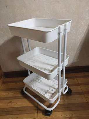 *QUALITY 3tier  movable Trolley image 4