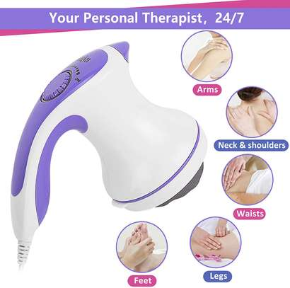 Handheld Fat Cellulite Remover Electric Body Slimming Massager, Body Sculpting Device for Home Gym image 1