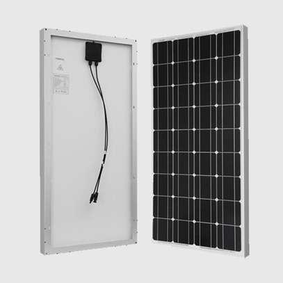 150w SolarMax Solar panel + 120AH Battery + 300w inverter + 20 Amp solar controller + 4 Bulbs. image 4