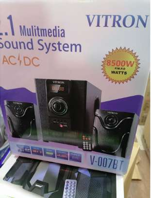 Vitron V007 8500 Watts Subwoofer with Bluetooth AC DC fm radio image 1