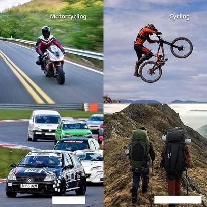 Pro Biker Alloy Steel Elbow, Knee, Shin Guard Protector image 4