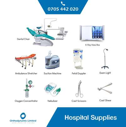 1 Crank Manual Hospital Bed  - single fold / function image 12
