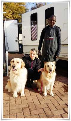 We offer safe, comfortable mobile pet grooming services image 4