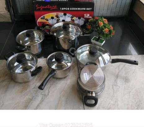 12pcs cookware set image 1