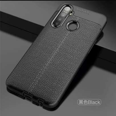 Auto Focus Leather Pattern Soft TPU Back Case Cover for Samsung M11/A11 image 3