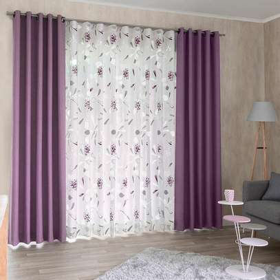 Beautiful curtains and sheers image 8