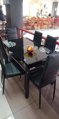 Black dining stand image 1