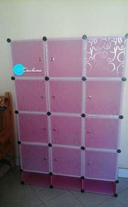 pink portable wardrobes image 1