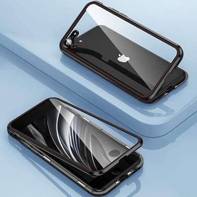 Magnetic Double-sided 360 Full Protection Glass Case for iPhone 7/8 image 12