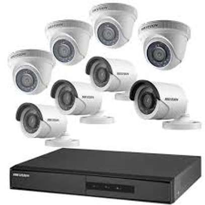 8 HD CCTV Camera Package (with Night Vision + 1TB Storage + 200m Cable) image 1