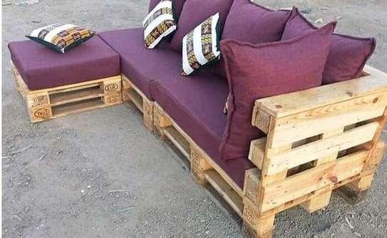 4 seater spacious pallet sofa/pallet furniture image 3
