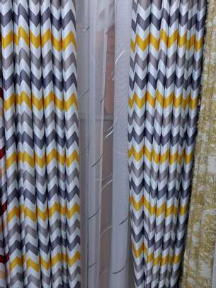STYLISH SHEERS AND CURTAINS PER METRE @ 1300/= image 6