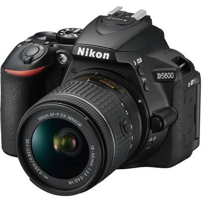 Nikon D5600 DSLR Camera with 18-55mm Lens image 1