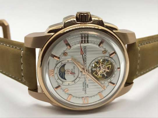 Lamborgini Tourbillon Watch