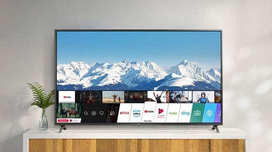 LG 49 inch Smart Ultra HD 4K LED TV –49UN7340 - Active HDR – IPS 4K Display image 1