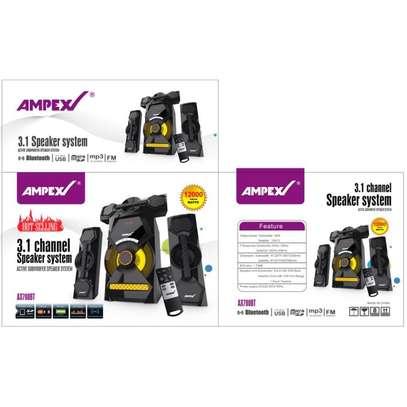 Ampex AX 700BT- 3.1Ch Woofer - 40000W PMPO - Bluetooth/USB/SD/FM 3.1CH DigitalRadio