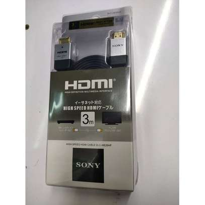 Sony High Speed HDMI Cable - 3M image 1