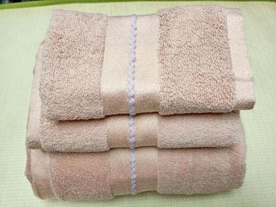3 PIECE COTTON TOWELS image 6