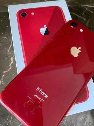 Apple Iphone 8 Red 256 Gigabytes & Airpods image 2