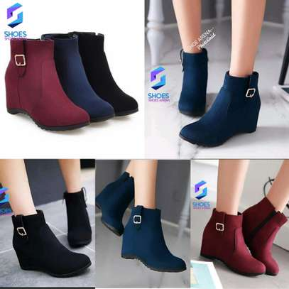 Pure Suede Ankle boots image 1