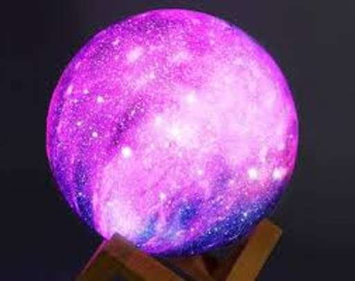 Moon Lamp LED Night Light with Stand/Timing Setting, Kids Moon Light with Remote image 1